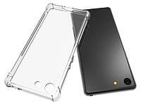 Прозрачный силиконовый чехол Premium для Sony Xperia 5
