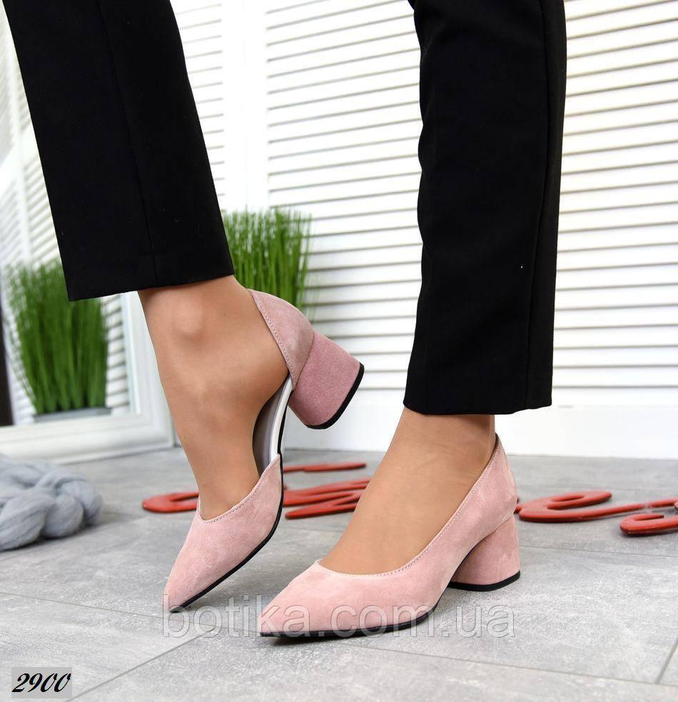7 расцветок! Стильные женские туфли на каблуке