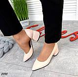 7 расцветок! Стильные женские туфли на каблуке, фото 3