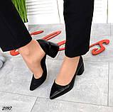 7 расцветок! Стильные женские туфли на каблуке, фото 7