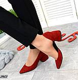 7 расцветок! Стильные женские туфли на каблуке, фото 2