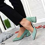 7 расцветок! Стильные женские туфли на каблуке, фото 9