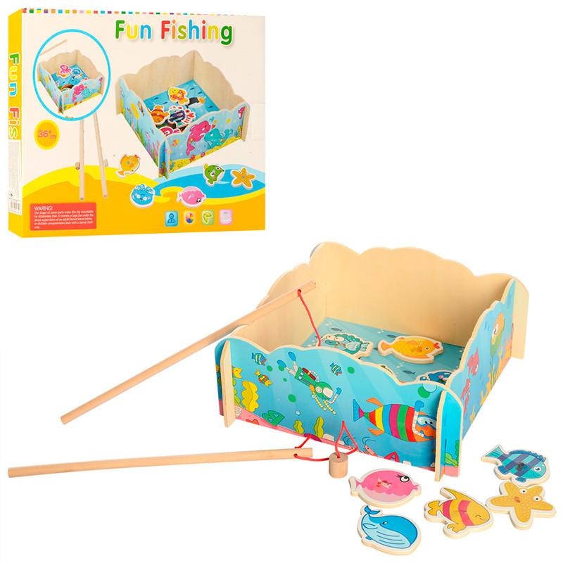 """Деревянная игрушка """"Рыбалка"""" MD 2400"""