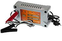 Импульсное ЗУ 12V 1А/ 4А для кислотных авто и мото АКБ Elegant Compact  EL 100 410
