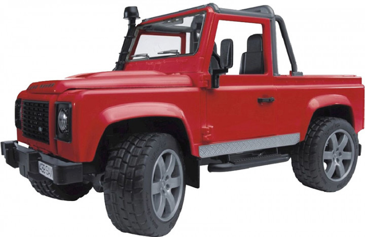 Bruder Игрушка машинка джип Land Rover Defender Pick Up, 02591