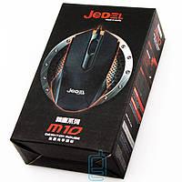 Мышь проводная Jedel M10 черная