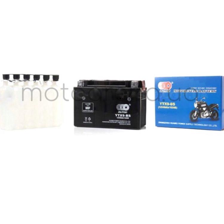 """АКБ 12V 9A кислотный 150-75-105mm YTX9-BS """"OUTDO"""""""