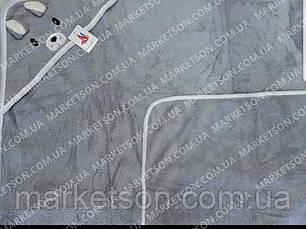 Махровий рушник з куточком для купання Зайчик 85х85, фото 3