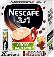 Кавовий напій Nescafe 3в1 Choco Hazelnut Mix (20x13 г)