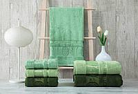 Полотенца бамбуковые 70*140 (3шт) 550г/м2 (TM Zeron)  Aynali Agac  Bamboo, Турция