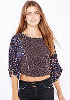Блуза женская летняя с принтомMango, фото 1