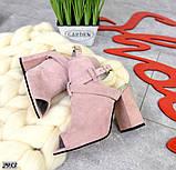 Эффектные женские босоножки на каблуке, фото 3