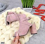 Эффектные женские босоножки на каблуке, фото 6