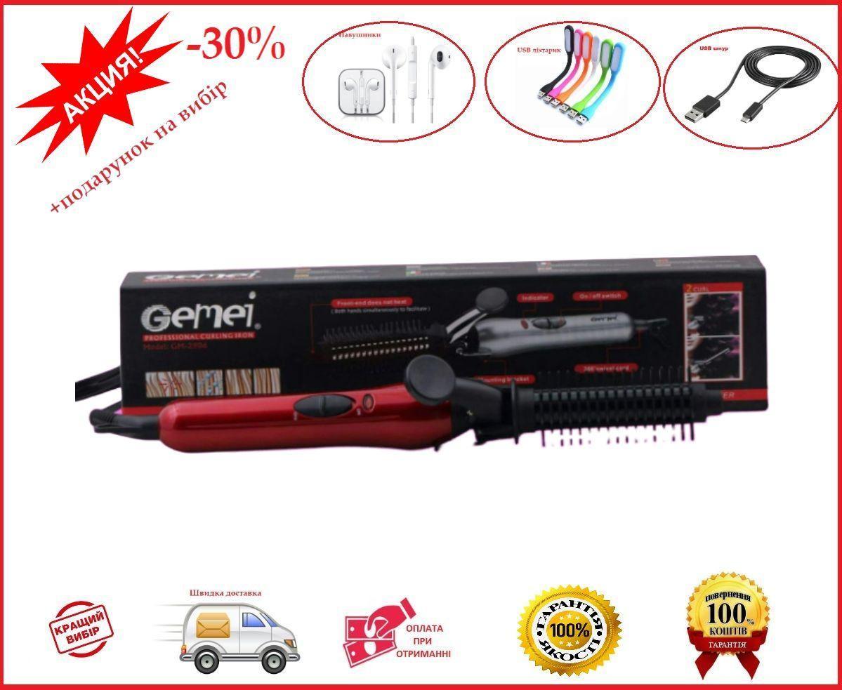 Плойка Gemei GM-2906 з гребінцем