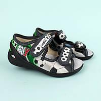 Тапочки на хлопчика дитяча текстильна взуття тм Валді розмір 23,24