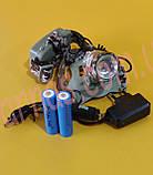 Акумуляторний налобний ліхтар BL-002M-T6, фото 2
