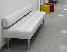 Диван для офиса Тонус (160х60х70)см. без подлокотников