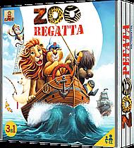 Настільна гра ЗООРЕГАТА(ZOOREGATTA) від Bombat Game, Україна