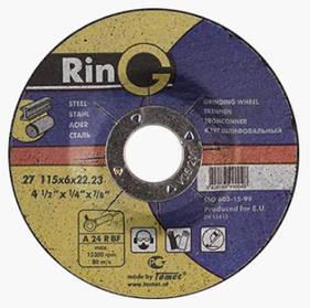 Круг шлифовальный по металлу (RING)