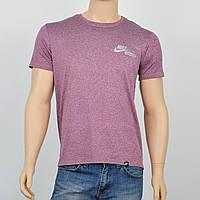 """Мужская футболка """"Вискоза"""" Nike 2520 бордо"""