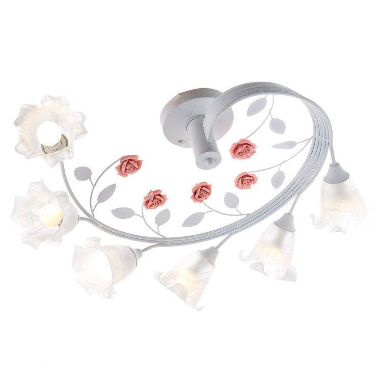 Люстра стельова у формі квітки SLAVIA SA002/6