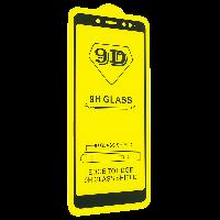 Cтекло 9D Xiaomi redmi Note 5, черное защитное