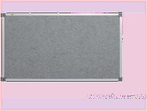 Доска текстильная ABC (90х120) в алюминиевой рамке, серая [abc_159012]
