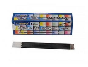 Стрижень кульк/AA134/довг./для 927-й ручки/(144) /колір синій Biefa 001642
