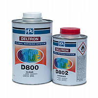 Лак акриловий 2K D800 DELTRON 1л+D802 0,5л  PPG