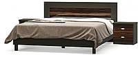 Ева Кровать 160 + ортопедический вклад + тумбы прикроватные МЕБЕЛЬ СЕРВИС Макасар