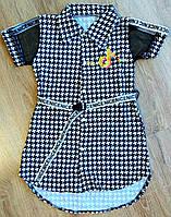 Детская рубашка на девочку Likee Tik Tok размеры 34,38