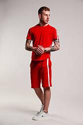 Мужской стильный комплект:футболка и шорты