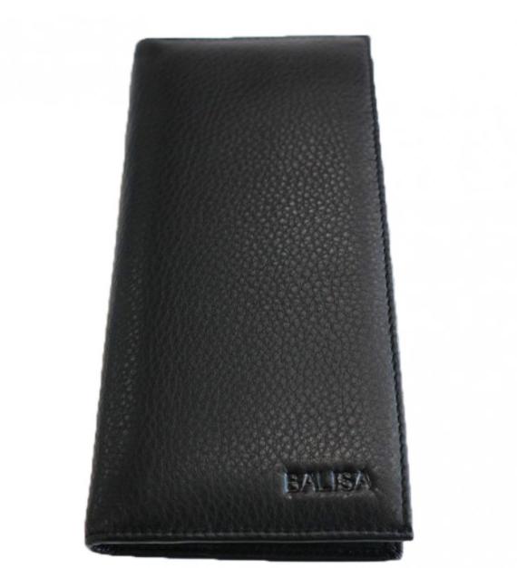 Мужское кожаное портмоне Balisa 2617 black Кожаное портмоне balisa оптом, Одесса 7 км