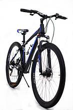 Горный алюминиевый велосипед Найнер с заниженной рамой S300 BLAST-NEW  Диаметр колёс 29 Рама 18 рост от 180см