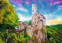 """Пазли - (1000 елм.) - """"Замок в Ліхтенштейні"""" / Trefl"""