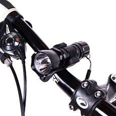 Фонарь велосипедный, основной+мигалка, BL-8008-198