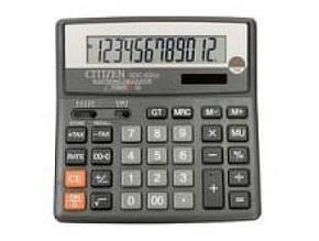 Калькулятор Citizen SDC-620 настольный большой (10)