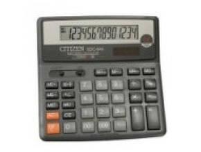 Калькулятор Citizen SDC-640 настольный большой (10)