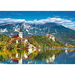 "Пазли - (500 елм.) - ""Блед, Словенія"" / Trefl"