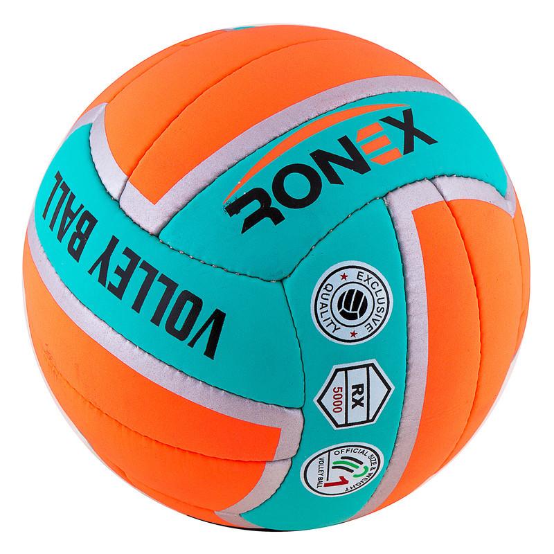 Мяч волейбол Ronex Orange/Green Cordly
