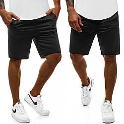 Мужские шорты черного цвета