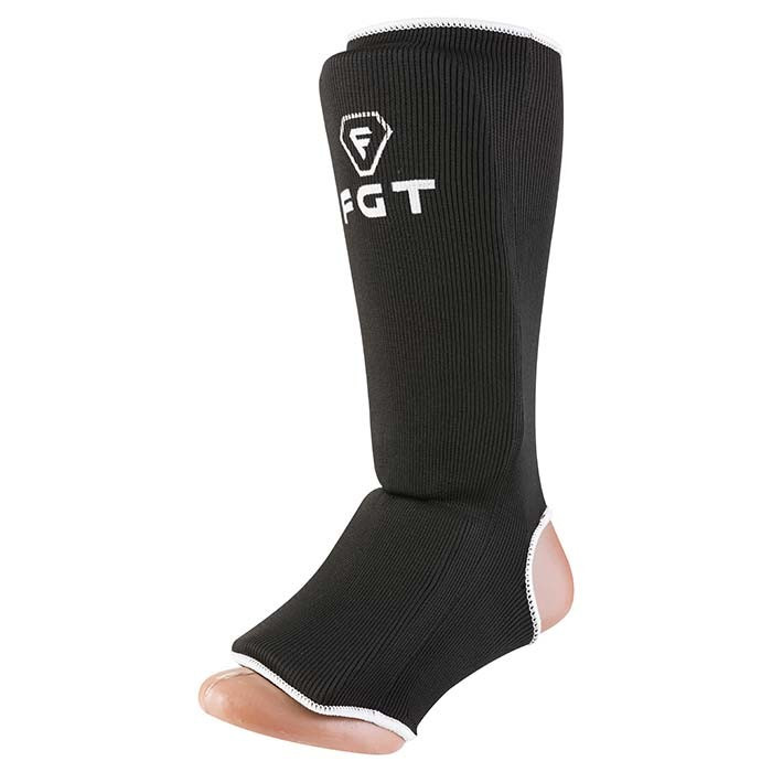Защита ноги FTG, х/б, эластан, черный, размер S mod 1025