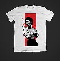 Футболка мужская с принтом Bruce Lee