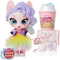 Kitten Catfe  Игрушка сюрприз Котик с аксессуарами серия 1 Purrista Girls Doll Figures Series 1, фото 1