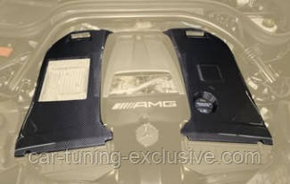 MANSORY engine cover for G63 AMG side parts for Mercedes G-class