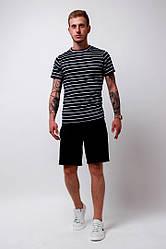 Мужской комплект:футболка и шорты