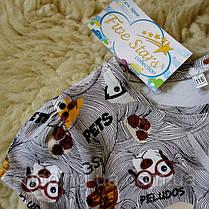 Детская футболка собачки в очках Five Stars KD0315-122p, фото 2
