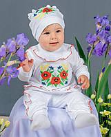 Костюм-комплект Вышиванка для девочек рост 62-80