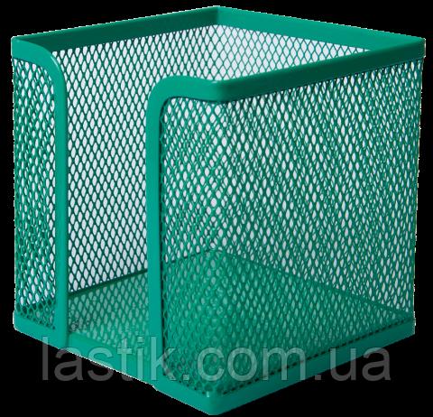 Бокс для бумаги, металлический, зеленый, фото 2
