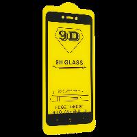 Cтекло 9D Xiaomi Redmi 4х черное, защитное